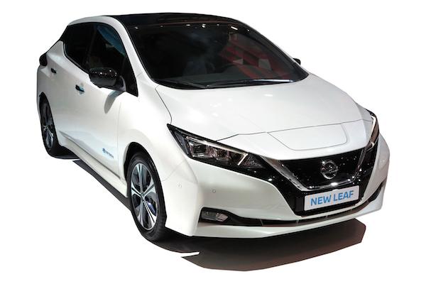 Der vollelektrische Nissan Leaf