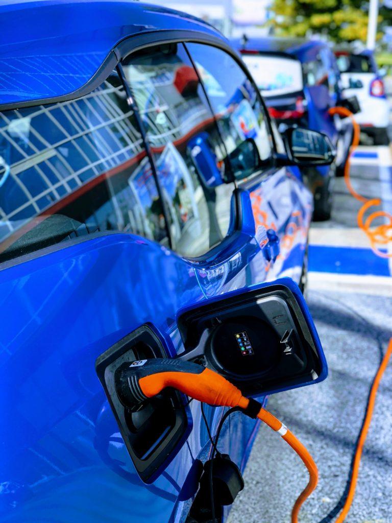 Elektroauto aufladen