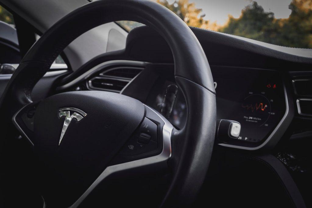 Tesla Innenraum - Vorteile Elektroauto