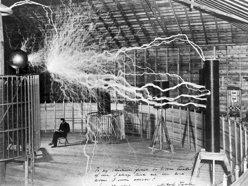 Erfinder Nicholas Tesla