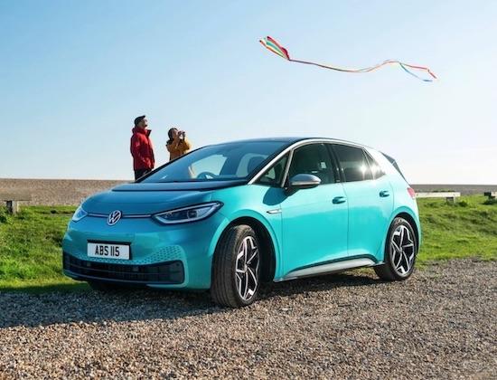 Das batterieelektrische Fahrzeug Volkswagen ID.3 (Quelle: VW)