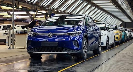 Volkswagen-ID.4 Elektroauto