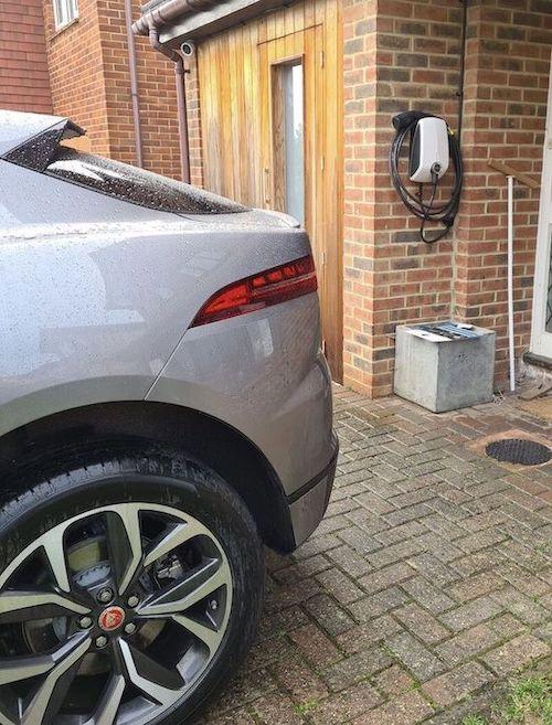 EVBox Ladestation Elektroauto