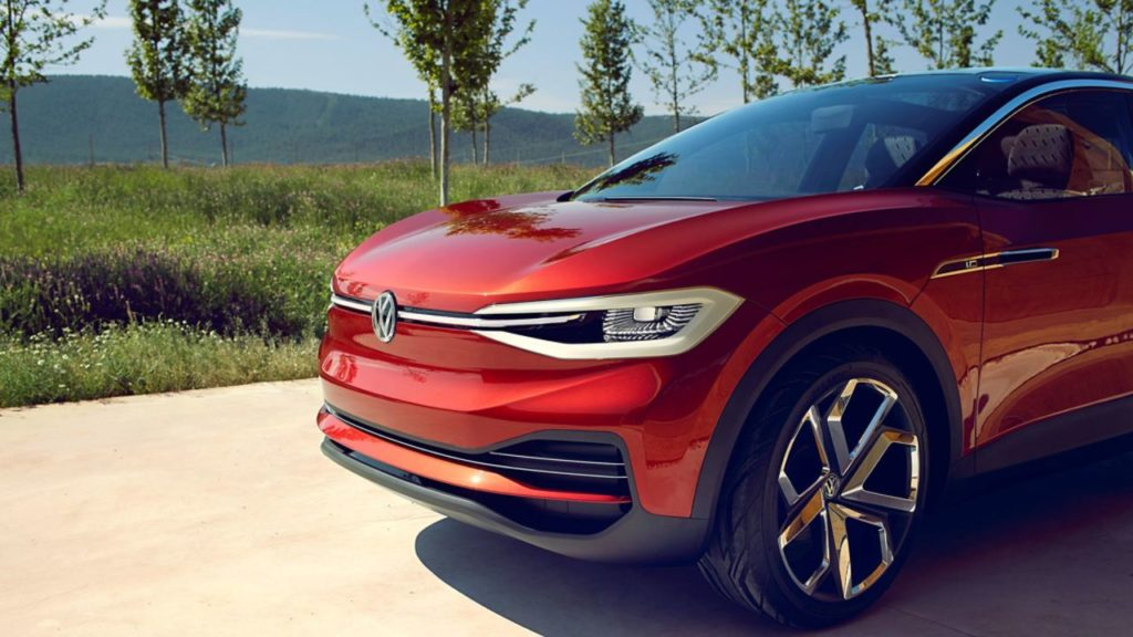 vollelektrische Volkswagen ID. Crozz  Elektroauto