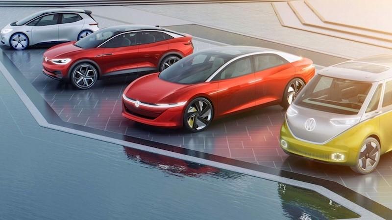 VW ID Elektroautos 2021