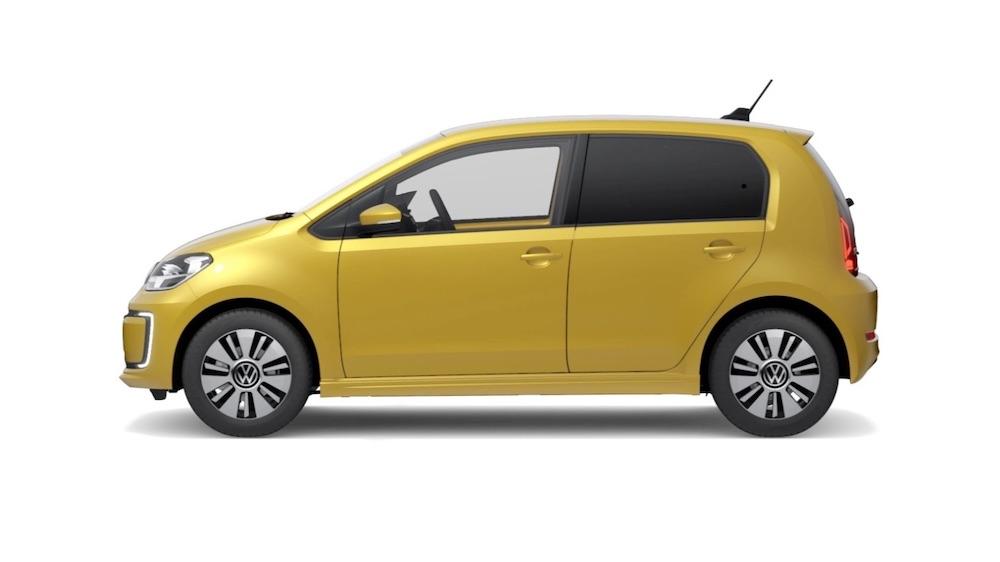 emissionsfreien Volkswagen eUp Elektroauto