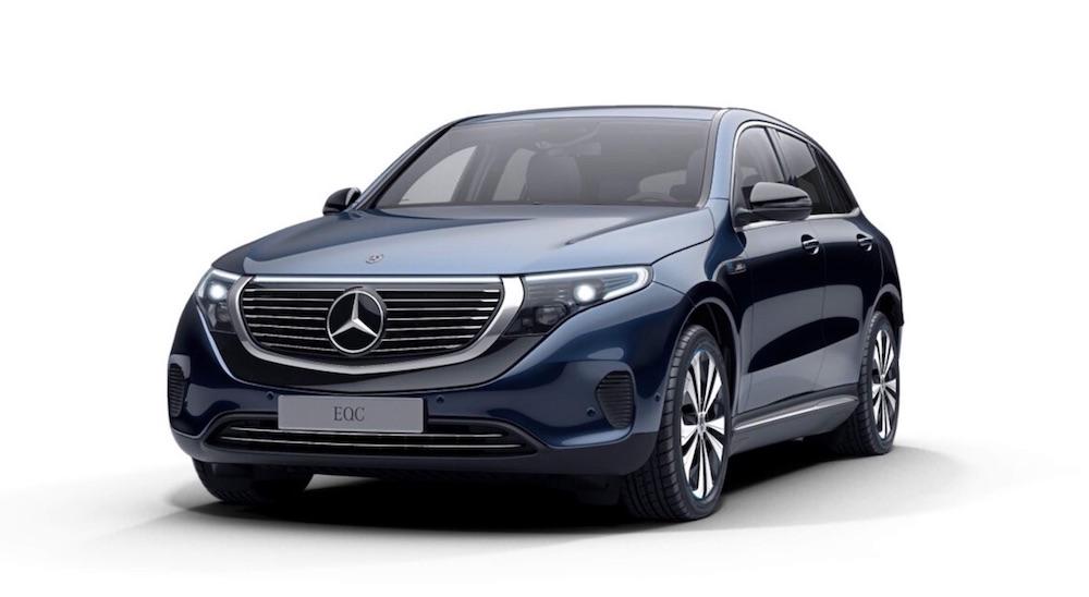Mercedes-Benz EQC Elektroauto SUV