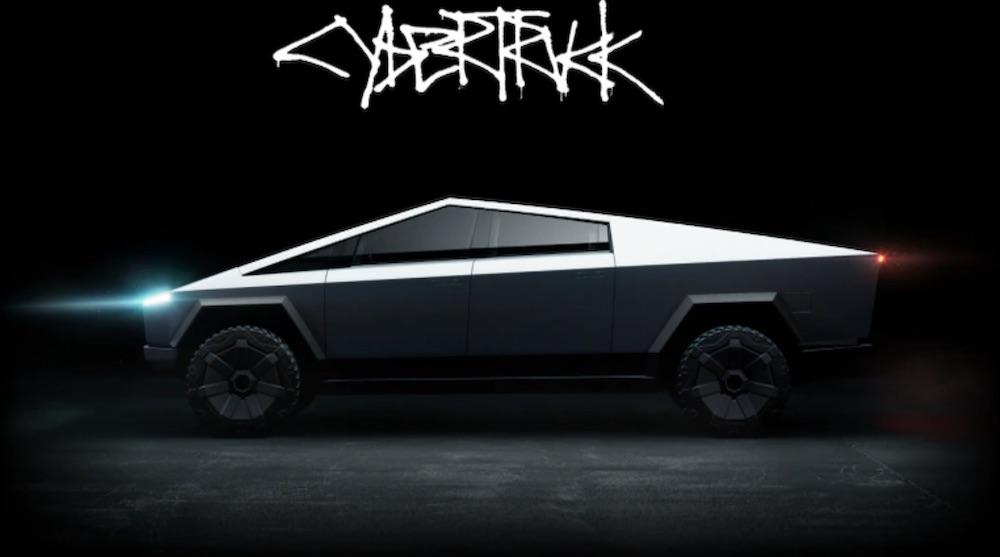 Tesla cybertruck elektroauto
