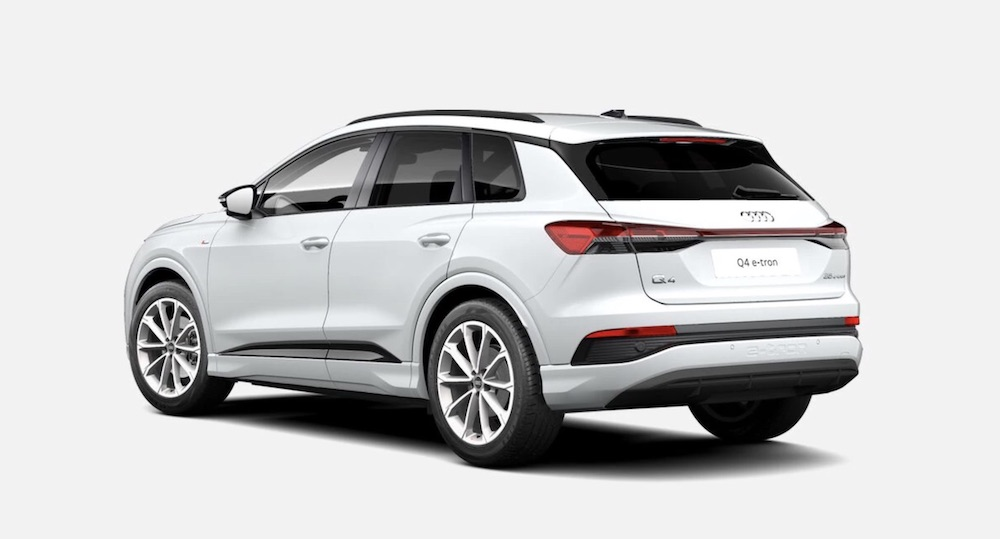 Audi Q4 e-tron SUV elektroauto