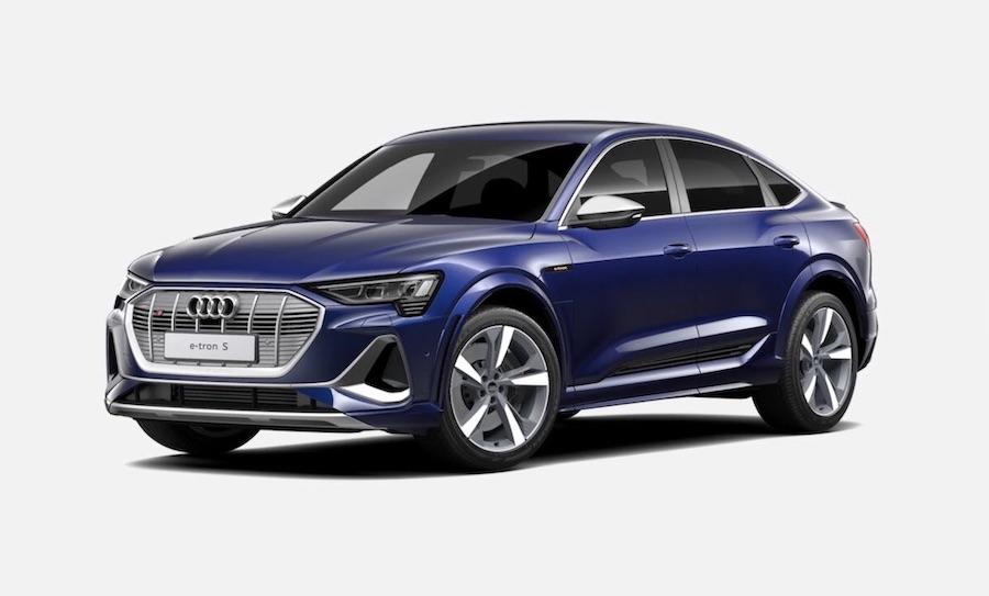 Audi e-tron S sportback elektroauto