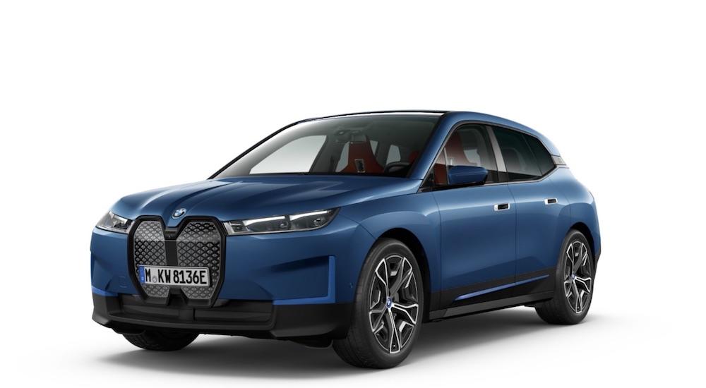 BMW iX SUV Elektroauto