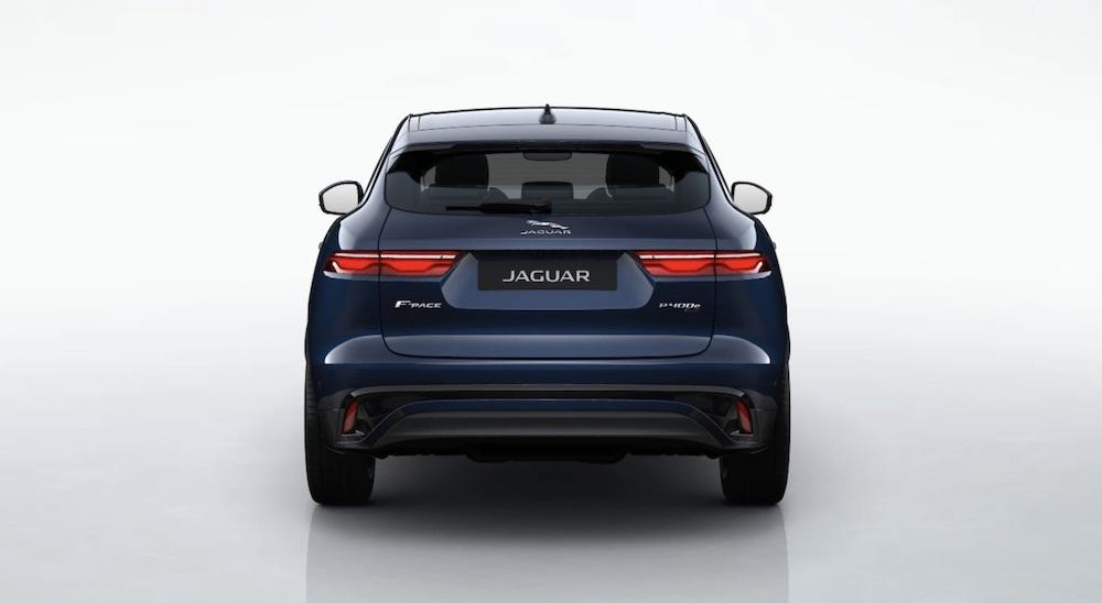 Jaguar F Pace Elektroauto