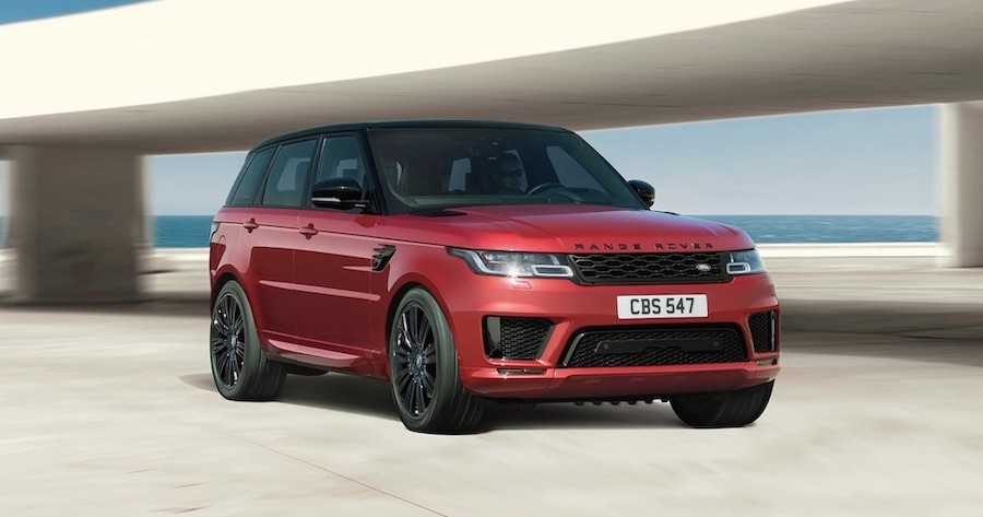 Range Rover Sport Plug-In Hybrid SUV elektroauto
