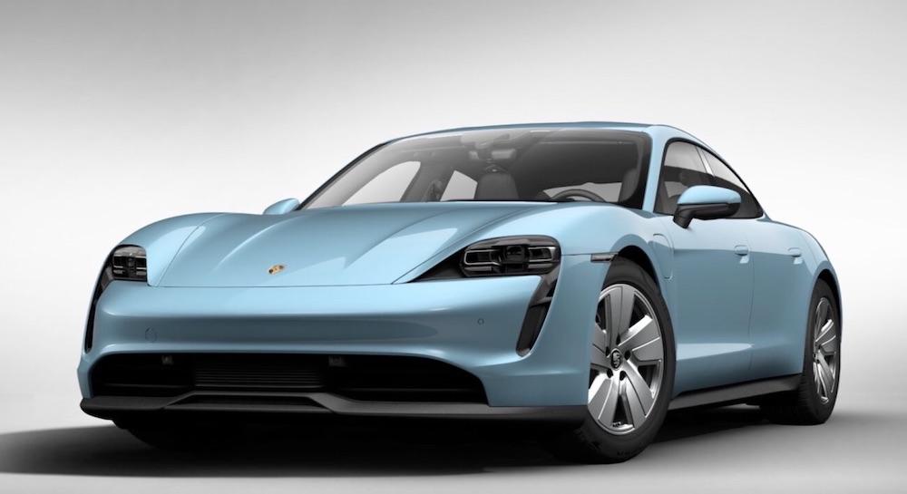 Der vollelektrische Porsche Taycan
