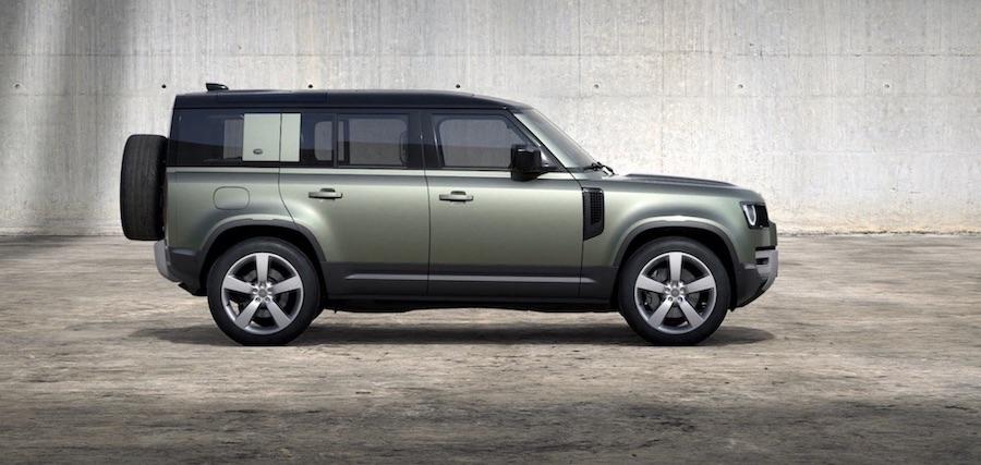 Land Rover Defender 110 Plug-In Hybrid SUV elektroauto