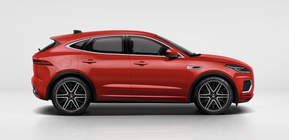 Jaguar E Pace plug in hybrid