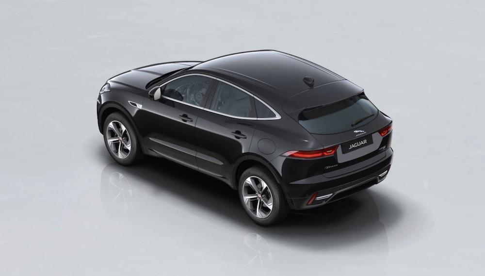 Jaguar E Pace plug in hybrid Elektroauto
