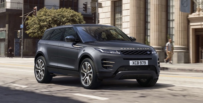 Land Rover Range Rover Evoque PHEV SUV elektroauto
