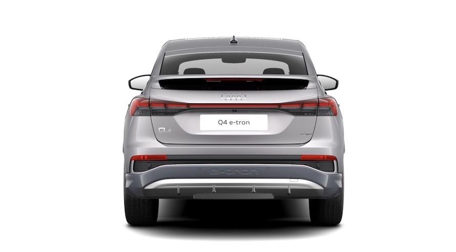 Audi Q4 sportback e-tron elektroauto