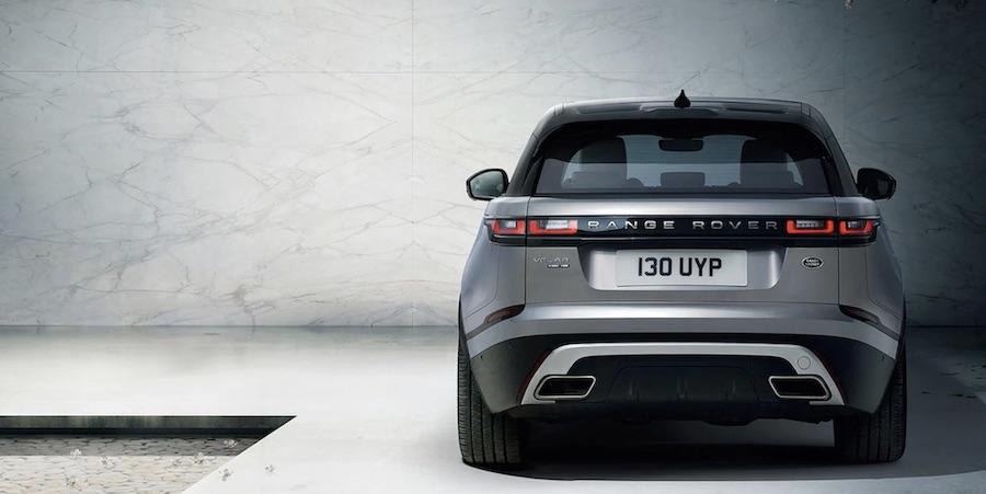 Range Rover Velar elektroauto