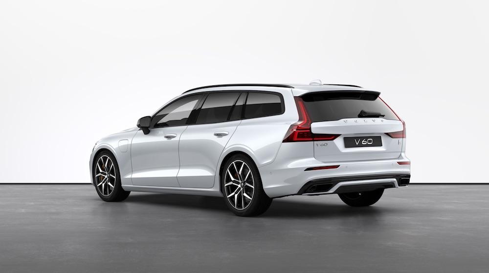 Volvo V60 plug in elektroauto