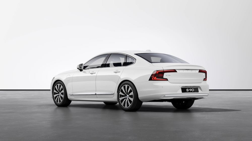 Volvo S90 Plug-In Hybrid elektroauto