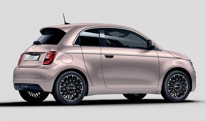 Der elektrische Fiat 500
