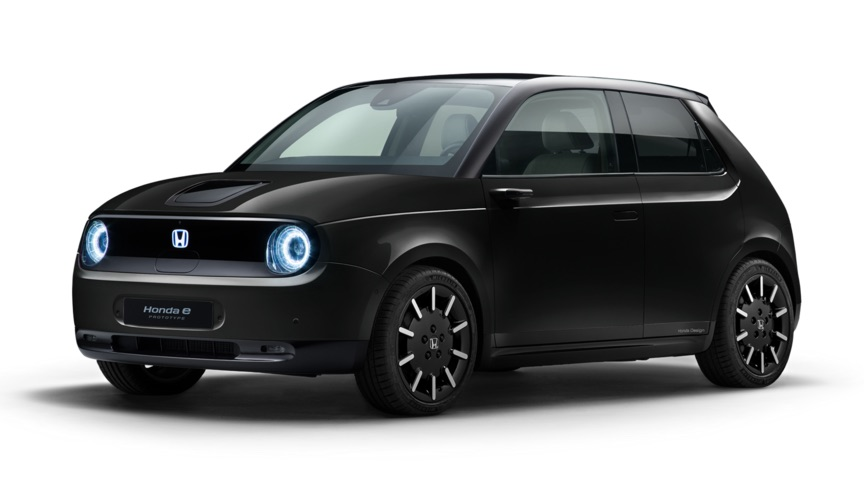 Der elektrische Honda e