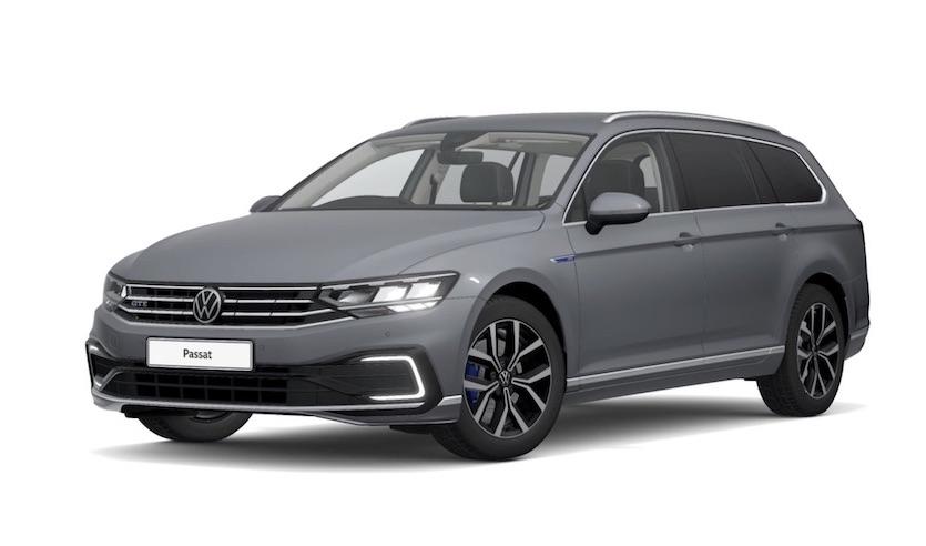 Der vollelektrische Volkswagen Passat GTE Plug-In Hybrid