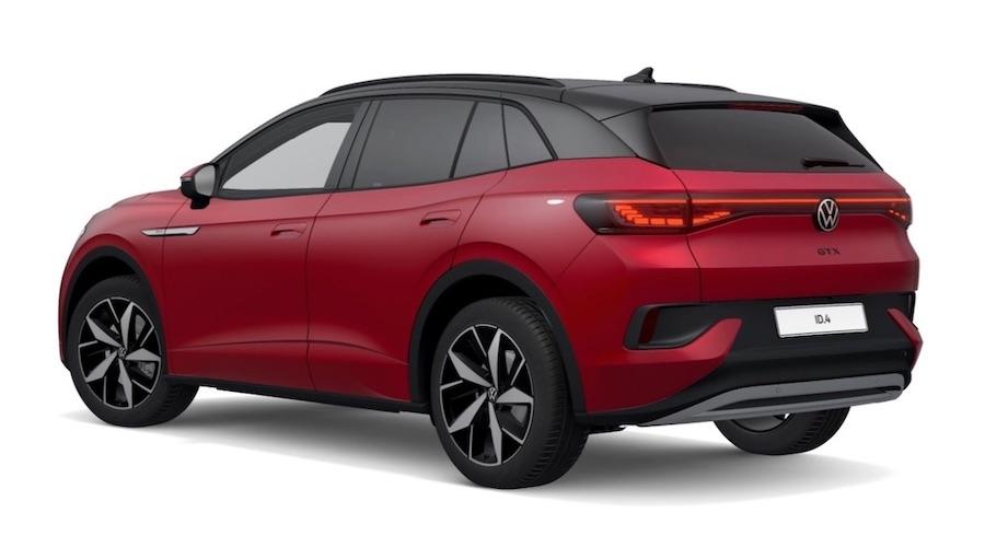 Der vollelektrische Volkswagen ID.4 GTX