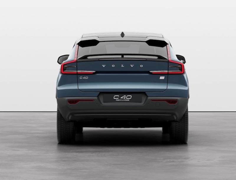 Der vollelektrische Volvo C40 Recharge SUV