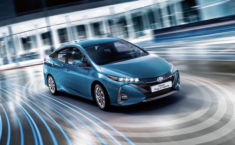 Toyota Prius Plug-In Hybrid elektroauto