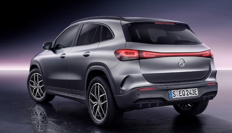 Mercedes-Benz EQA Elektroauto SUV