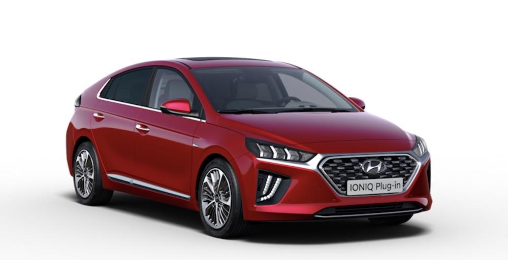 Hyundai IONIQ Electric plug in hybrid elektroauto