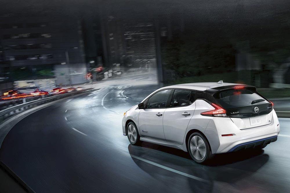 Der elektrische Nissan Leaf