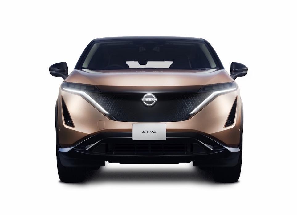 Der elektrische Nissan Ariya