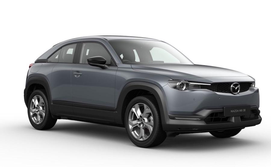 Der vollelektrische Mazda MX-30